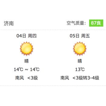 iframe天气插件